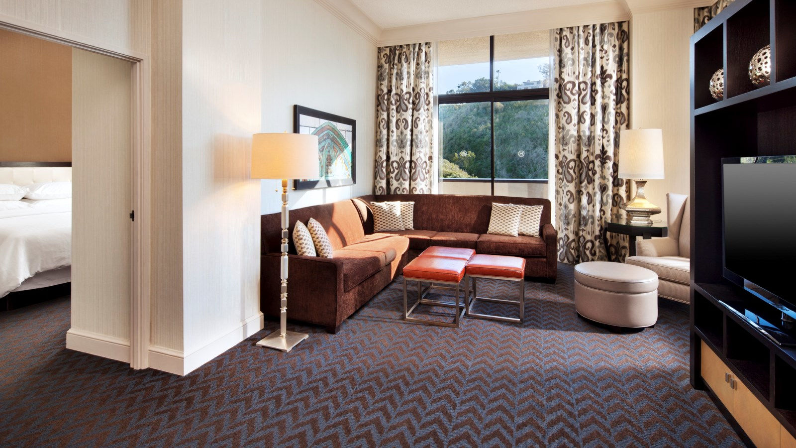 Suite in San Diego - King Suite - Sheraton Mission Valley San Diego Hotel