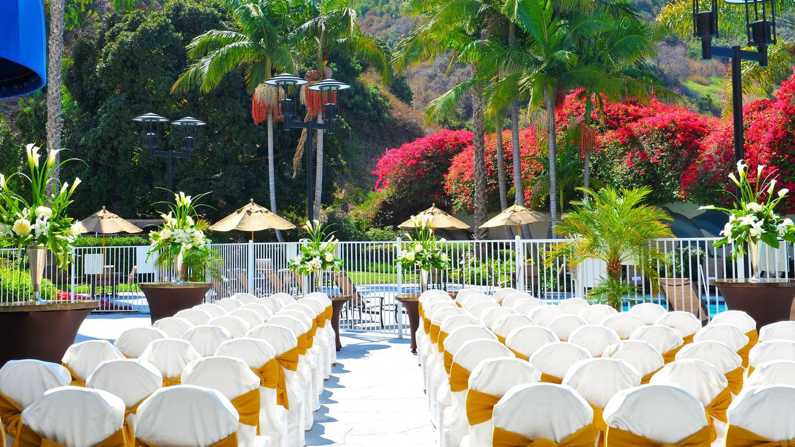 Sheraton Mission Valley San Diego Hotel - Outdoor Wedding Venue